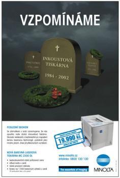 reklama Minolta