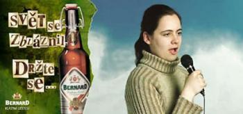reklama Pivovar Bernard - obrázek se otevře do nového okna